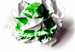 reciclendo papel